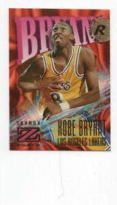 kobe bryant lakers rc card 1996 97 skybox z 142