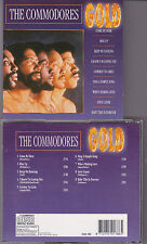 CD THE COMMODORES GOLD 9 TITRES BEST OF   TBE