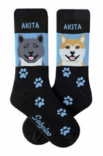 Akita Crew Socks Unisex
