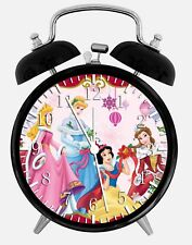 "Disney Princess Alarm Desk Clock 3.75"" Home or Office Decor Z48 Nice For Gift"