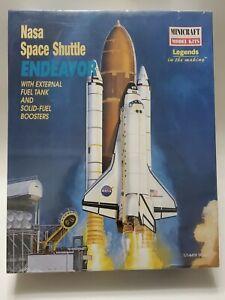 NASA Space Shuttle ENDEAVOR Minicraft Model Kit 11630 1:144 New Sealed Kit