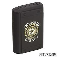 Perdomo COLIBRI Uber Triple Flame Torch Cigar Lighter Table-top Rubberized Black