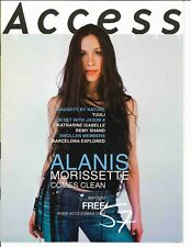 Access All Areas Magazine May 2002 Alanis Morissette Naughty by Nature Swollen M