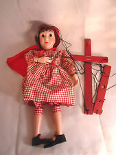 1960'S HAZELLES RED RIDING HOOD MARIONETTE WITH BOX