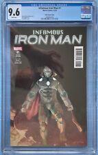 Infamous Iron Man #1 Esad Ribic 1:25 CGC 9.6 1st A.I. Tony Stark