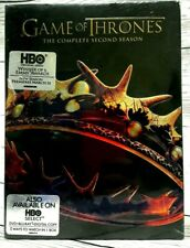 Game of Thrones: The Complete Second Season (DVD, 5-Disc Set) BRAND NEW