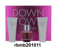 Down Town By Calvin Klein Gift Set EDP 3.0 oz + Lotion 3.4 oz + S/Gel 3.4 oz