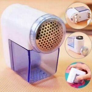ELECTRIC LINT REMOVER Fuzz Off Bobble Fabric Clothes Dust Bubble Shaver Fluff