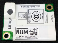 Original Dell Conexant Rd02-D330 laptop internal modem card for Dell D630