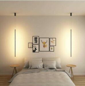L60/80/120CM LED Ceiling Light Lamp Nordic Aluminum Cafe Lighting Kitchen Bar