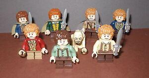 """Lego Herr der Ringe / Der Hobbit  Auswahl Minifiguren """"Hobbits"""" auch Gollum etc"""