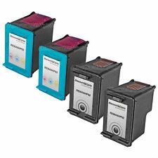 4PK #92 #93 BLACK COLOR Ink Set for HP C9361WN C9362WN Deskjet 5440xi 5420v 5440