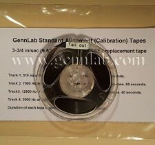 GennLab Elcaset Calibration replacement Tape