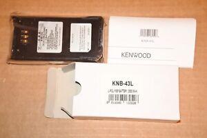Kenwood 3300mAh  KNB-43L Li-Ion Battery TK-2180 TK-3180 TK-5210 TK-5310 OEM NOS