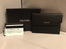 New with tags! Prada Saffiano Snap Wallet