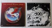 Steve Miller-2 LPs- Book of Dreams, Living in the 20th Century--Excellent Vinyl