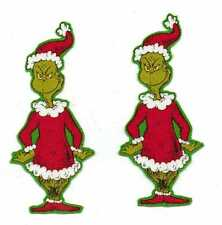 Christmas Grinches - Iron On Fabric Appliques