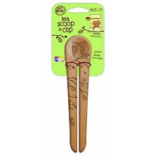 Talisman Designs Tea Scoop & Bag Clip - Woodland Design