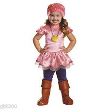 IZZY 2T Toddler Costume Disney Jake and the Neverland Pirates Girl Dress Up Pink