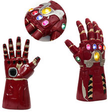 New Style Iron Man Infinity Gauntlet Marvel Legends Gloves Avengers LED LIGHT