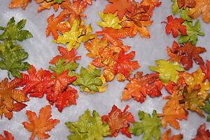 Streuartikel Ahornblätter Herbstblätter Deko Tischdeko Herbst farbig 136St