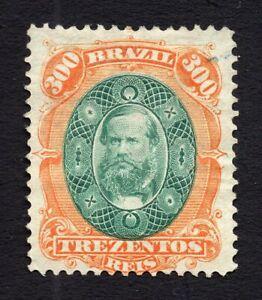 Brazil 1878 stamp Mi#37 MH CV=120€