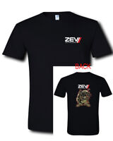 ZEV Technologies Logo OZ9 Pistol  Glock Rifles 2SIDES Black T-Shirt S M L XL 2XL