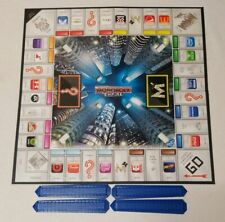 2013 Monopoly Empire Replacement Piece Game Board Blue Towers X 4 Free Shipping