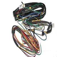 Complete Wiring Harness Wire Loom For 12V Jawa 350 360 Assembly