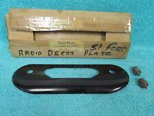 1951 FORD  PHILCO RADIO FACEPLATE  NEW   516