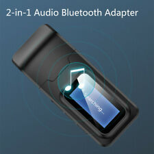 Bluetooth V5.0 Wireless Receiver 3.5mm Jack Aux USB Audio Adapter For TV PC Car