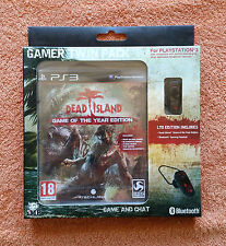 Dead Island Gamer Twin Pack PS3 / neuf / collector 🇫🇷 🇬🇧 🇩🇪 🇪🇸 🇮🇹 🇳🇱