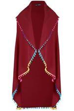 Damen-Overalls mit Wasserfall-Ausschnitt aus Polyester in Übergröße