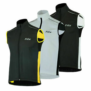 Mens cycling Gilet Shower Windproof Foldable Cycling Jacket Breathable Gilet