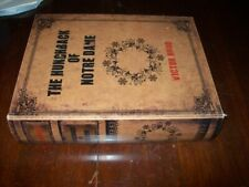 "Secret Book Box ""The Hunchback of Notre Dame"" Hollow Hidden Compartment Stash"