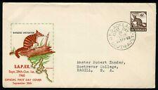Australia 1960 6d Ant Eater - Sapex Fdc