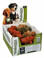 Whimzees Alligator Large Box 30 Treats - Vegetable Natural Grain Free Dog Chew