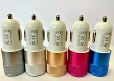 SUPER FAST Dual In Car Charger for Apple iPhone / Samsung / HTC / Nokia / Huawei