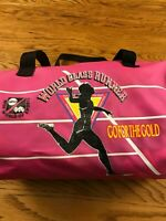 Vintage ABC Wide World Of Sports World Class Runner Mini Duffel Bag