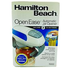 Hamilton Beach OPEN EASE Effortless Push Button Automatic Jar Opener Model 76800