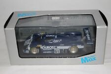 MAX MODELS 1/43 SAUBER MERCEDES C9 KOUROS LE MANS 1987 #61 CAR