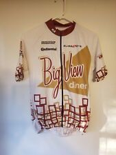Sugoi Bicycle Jersey - Unisex Small - Big View Diner - Shimano Continental
