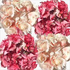 Vintage Artificial Flower Rose Garland Home Wedding Garden Decoration Pink Cream