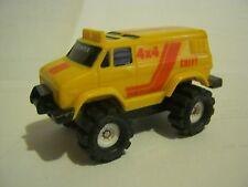 Schaper Mfg. Yellow Chevy 4x4 Stomper, non-battery version, rare (EB20-6)