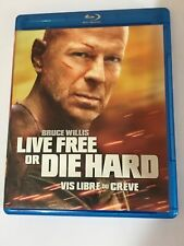 Live Free Or Die Hard Blu Ray 2007 Bruce Willis Canadian