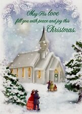 Christmas Church Service Holiday Greeting Cards