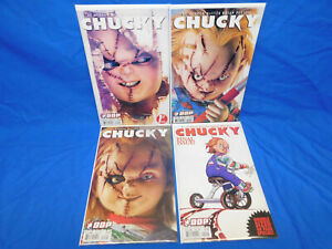 Chucky 1-4 1 2 3 4 Child's Play Brian Pulido Complete Set Devil's Due DDP
