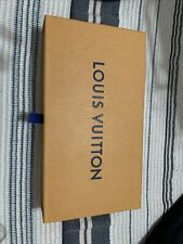 Louis Vuitton Authentic Empty Box Wallet Storage Drawer 9.75� X 5.25� X 1.75�