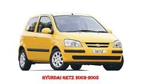 HYUNDAI Getz 2002-2006 WORKSHOP  REPAIR MANUAL DOWNLOAD