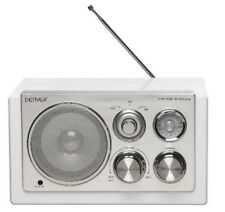 Radio Retro Design Denver TR-61 WHITE mit AUX IN für MP3 Player oder Handy